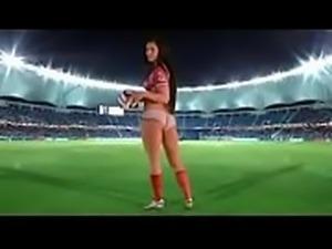 Gatinhas se exibindo durante a copa - Video completo: zo.ee/4v1Ts