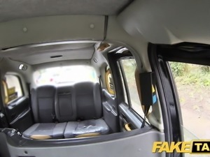 Fake Taxi Petite blonde takes dildo and cock in backseat