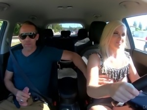 To pass driving licence exam kinky Emily Right fucks with her instructor