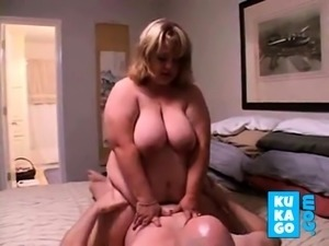 BBW Couple in Homemade Sex Clip