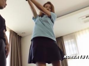 SUPER HOT Korean Golfer Fucked in Japan