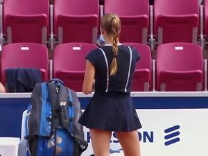 Tennisplayer Mirjam Bjorklund