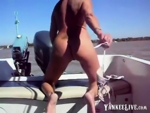 Nice fuck on a boat.